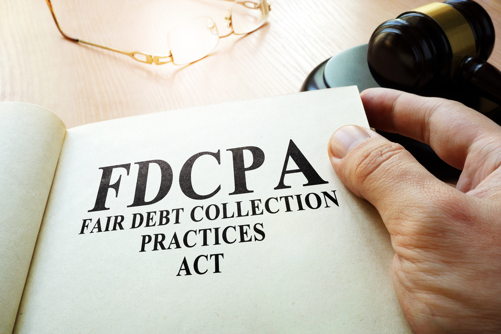 The FDCPA was passed to rein in debt collectors